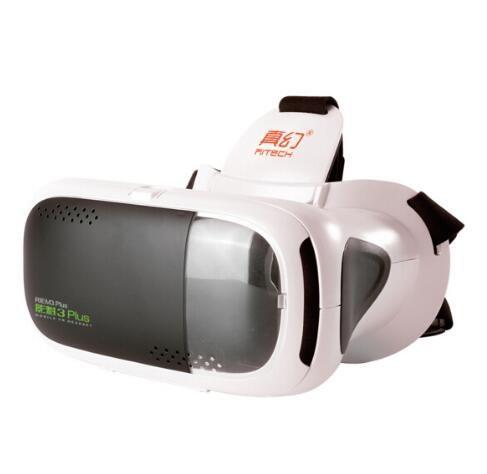 RITECH III Plus VR 360 Visualizando Imersiva Óculos de Realidade Virtual 3D FOV 75 Graus Google Papelão Engrenagem para 4.7-6 polegada Telefone