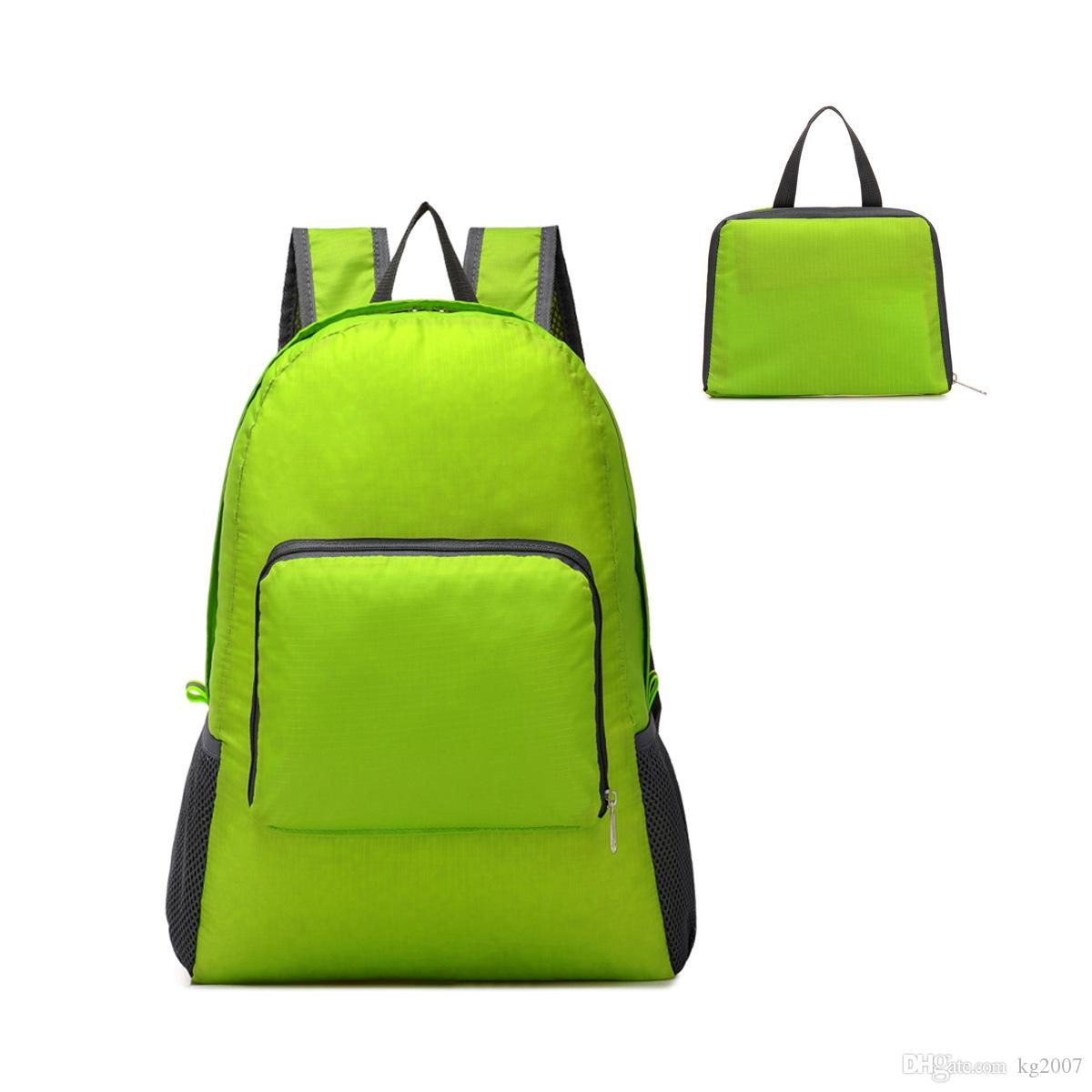 High quality folding and portable travel bag special backpack men and women backpack