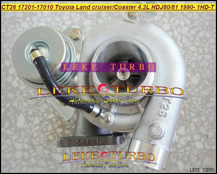Wholesale CT26 17201-17010 Toyota Landcruiser TD Coaster 4.2LD HDJ80 HDJ81 1990-2001 160HP 1HDT 1HD-FT turbocharger (4)