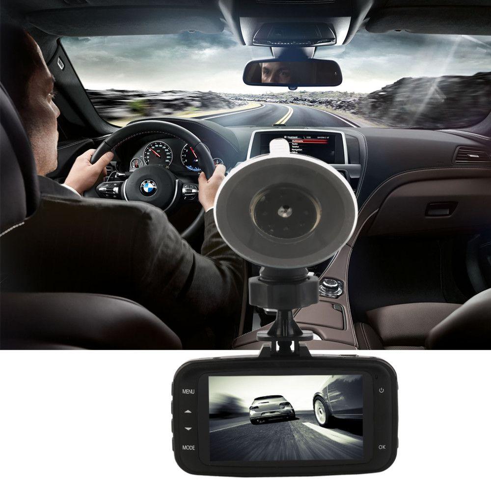 """Полный высокой четкости 1080p автомобильный видеорегистратор тире-камеры автомобиля видеорегистратор GS8000L 2.7"""" 120 25 кадров в секунду G-сенсор видеорегистратор Dashcam"""