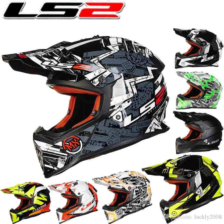 2016 neue LS2 professionelle racing off road motorrad helm MX437 ABS motocross motorrad helme größe L XL XXL 11 farben