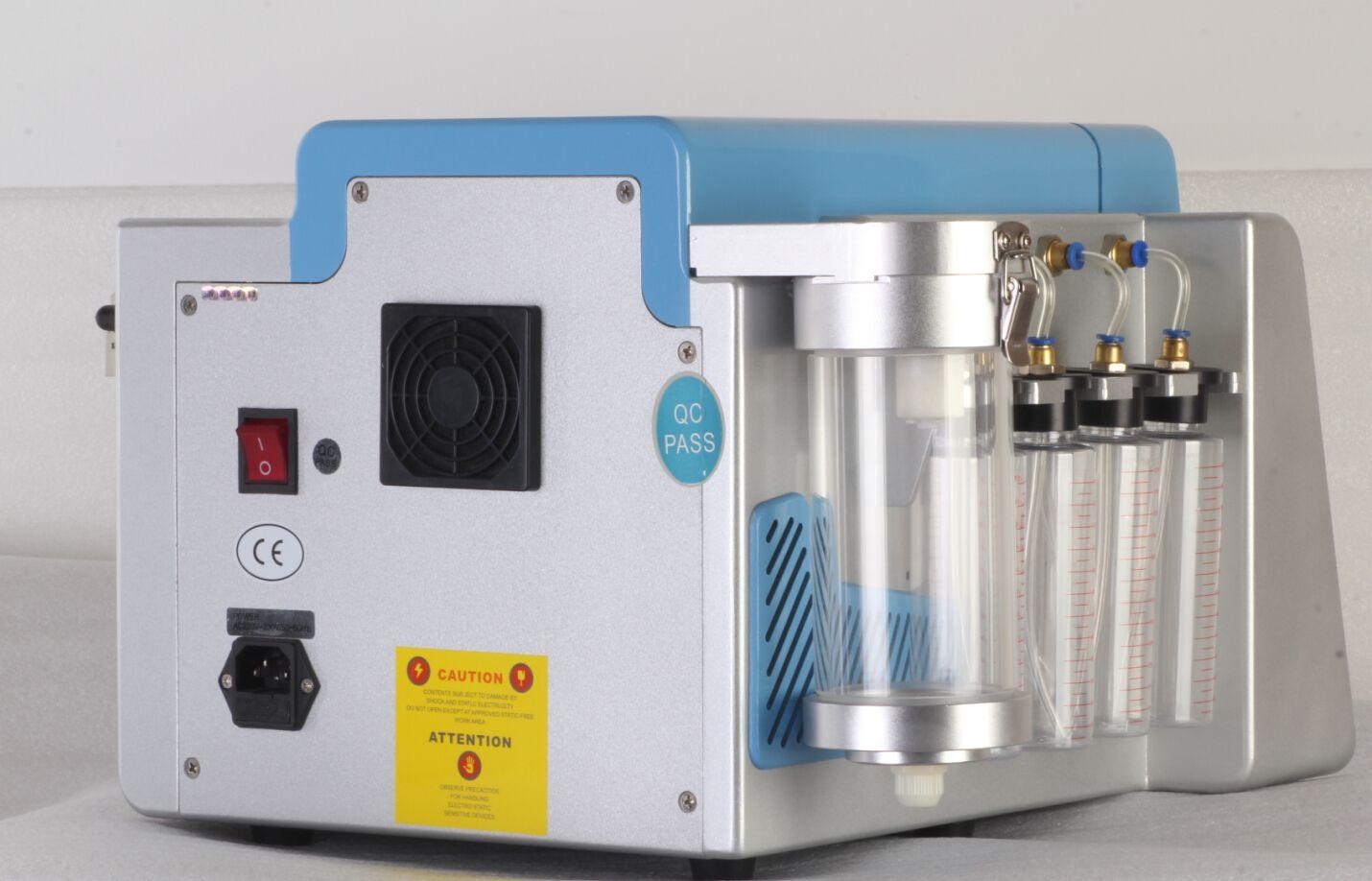 Hydro Dermabrasion Máquina Facial Dermabrasion de agua Máquina de cáscara con 8 puntas Hydro profesionales y 9 consejos de diamante Aprobación CE
