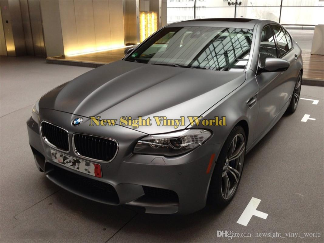 Matte Grey Car >> 2019 Premium Matte Satin Chrome Grey Car Vinyl Film Wrap Foil Air Bubble Free For Vehicle Wrapping From Newsight Vinyl World 178 3 Dhgate Com