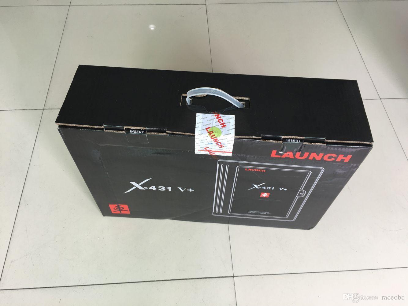 100 % 오리지널 시작 X431 V + plus 전체 시스템 자동 스캐너 X431 V PLUS 온라인 업데이트 무료 배송 2 년 보증