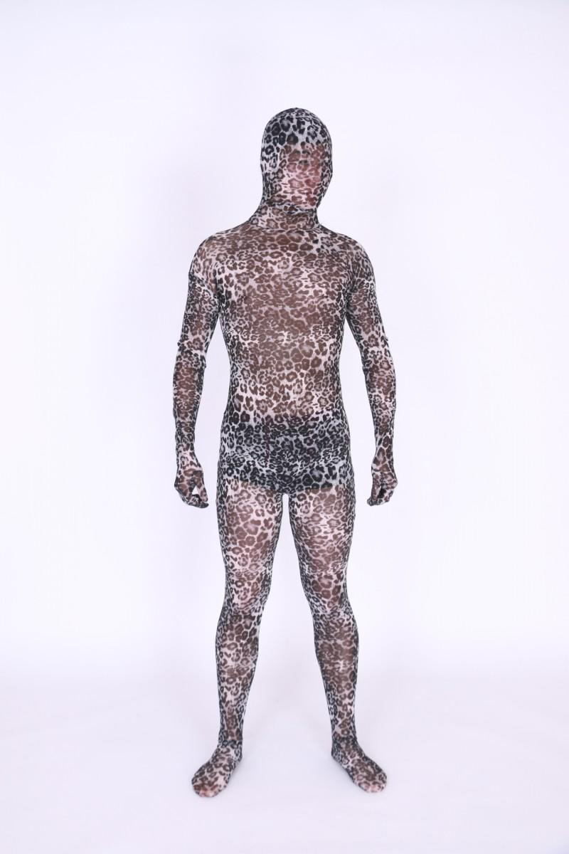 Zentai Unitard Spandex Traje de piel Fiesta Disfraces de Halloween para adultos