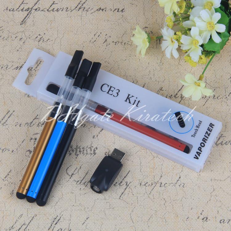 510 Thick Oil Vape Dab Pen Vaporizer Mini CE3 Pen Vape Blister kit usb charger 510 battery ce3 OPen Bud Touch Hot SELL