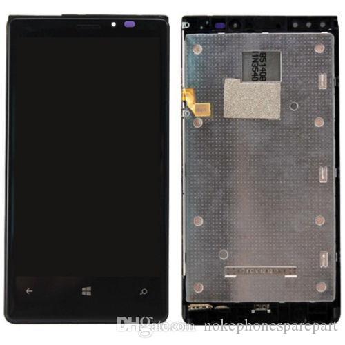 Nueva pantalla LCD negra + ensamblaje del digitalizador de pantalla táctil para Nokia Lumia 920