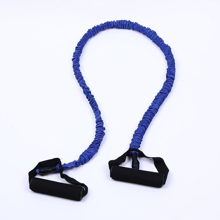 Una cuerda de tirón body-building cuerda elástica multifuncional de la correa del pecho femenino de la aptitud del equipo de la aptitud del equipo de la manguera