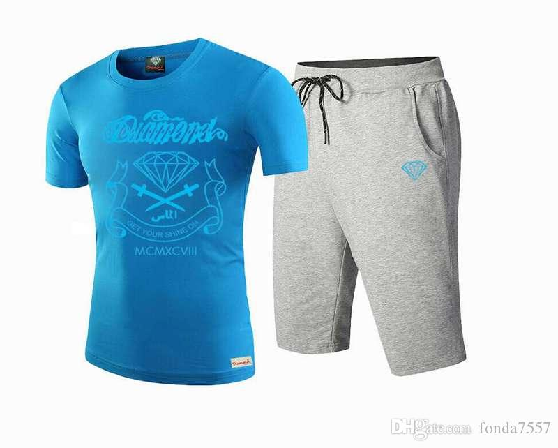 f45h geben Verschiffen beiläufiges T-Stück neues Art- und Weisemann-Frauent-shirt + pants plus beiläufige Klage der Größe S-5XL frei