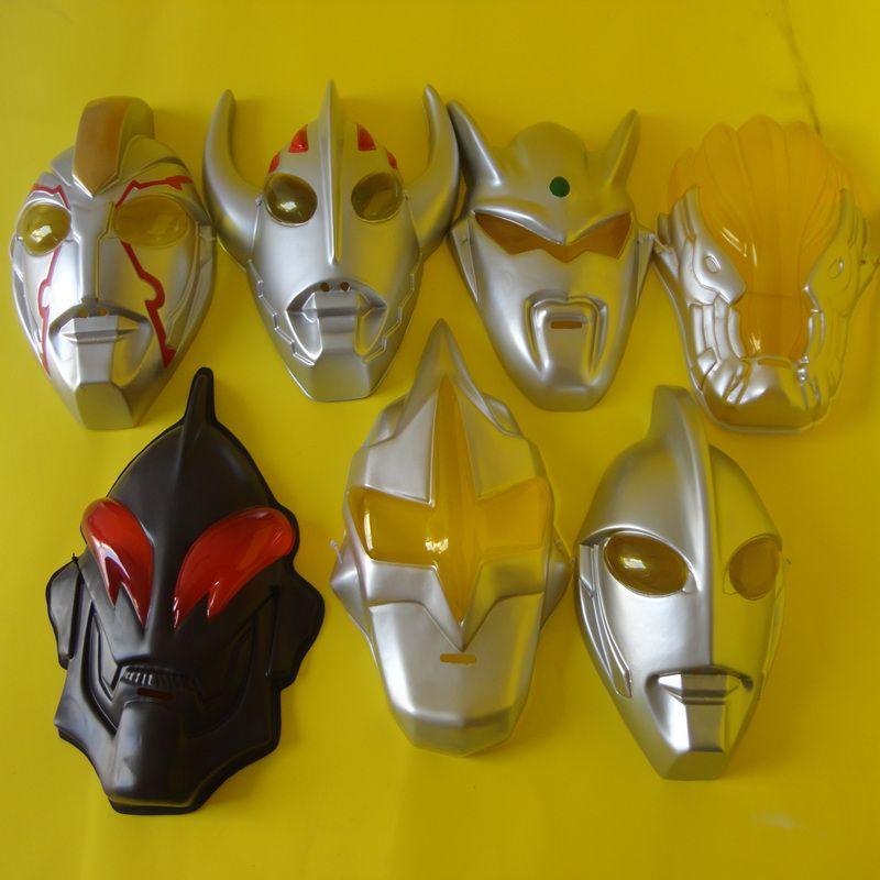Ultraman série máscara Siro, Taylor, Jack, sonho MBIUS ambiental PVC crianças máscara de desenhos animados cocar maquiagem