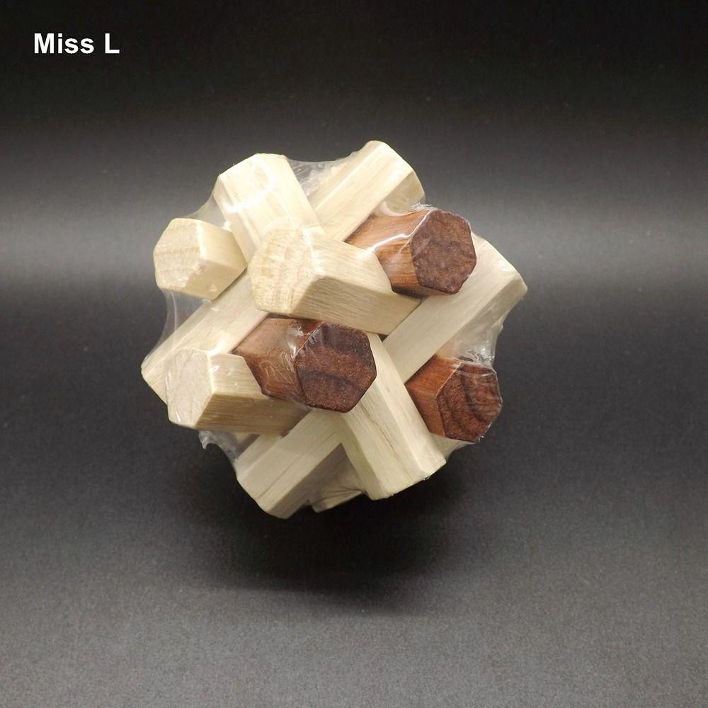 Juguete de madera Juego de Puzzle Hexagonal Bloque de Geometría Montessori Aprendizaje Temprano Juguetes Educativos Bebé Niños Regalo Enseñanza Prop Mente Juego