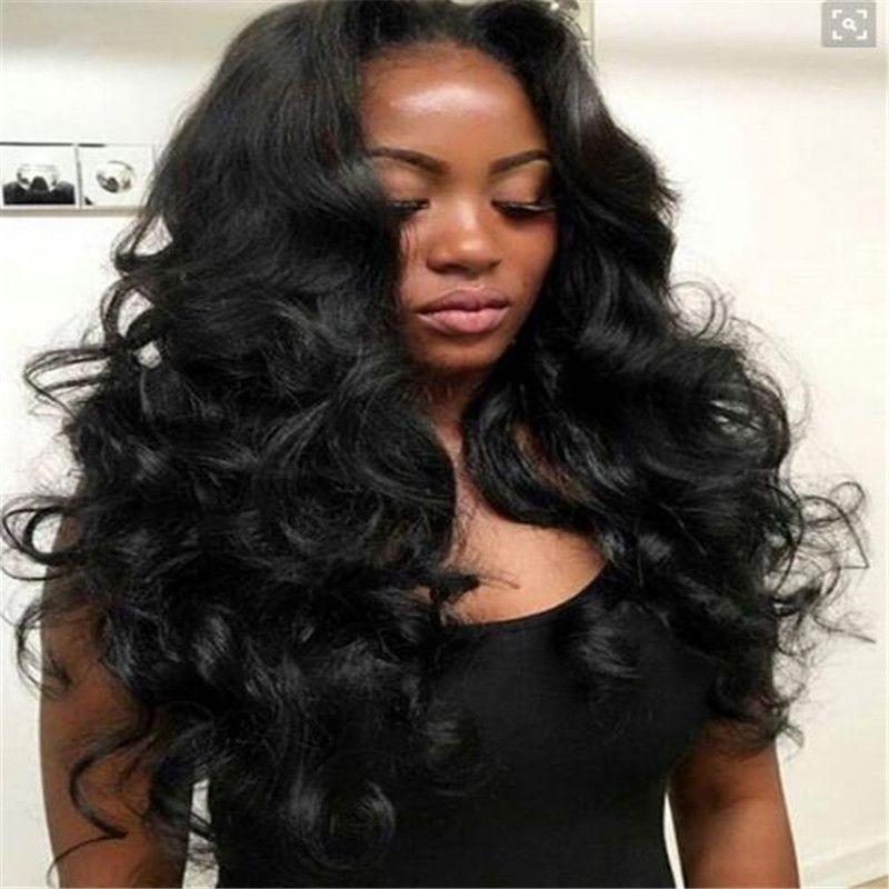 Unprocessed Brazilian Human Hair Brazilian Loose Wave Wavy Full Lace Wig Lace Front Wig Glueless Brazilian Hair