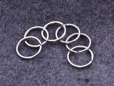35mm DIY Schlüsselringe 304 Edelstahl-Schlüsselringe für Schmucksachen DIY Zusätze 1000pcs silberne Bänder für Verkauf