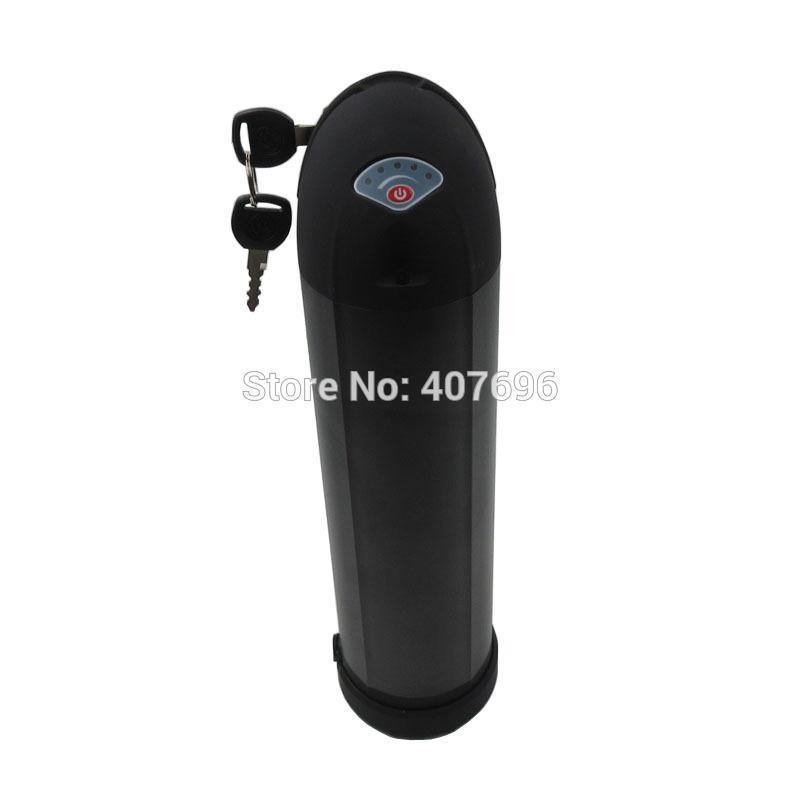 Charge de douane libre 48V 13ah batterie de bouteille d'eau 48V batterie au lithium 13AH adapter Bafang BBS02 750W 20A BMS 54.6V 2A chargeur
