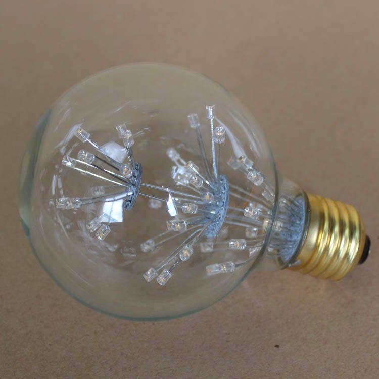 Vintage G80 LED Edison Filament Light Bulb E27 220V Ampolletas Led Light for Home Clear Glass incandescent Warm Yellow Bulb Lamp (13)