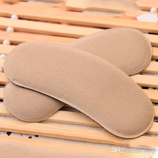 Inserti per tacchi per scarpe in tessuto appiccicoso e resistente Inserti per protezioni Cuscini imbottiti Impugnature Cura dei piedi X2