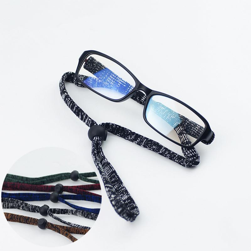 20Pcs/Lot Outdoor Sports Adjustable Eyeglasses Flexible Anti-Slip Spectacle Glasses Chain String Rope 5Colors Free Shipping