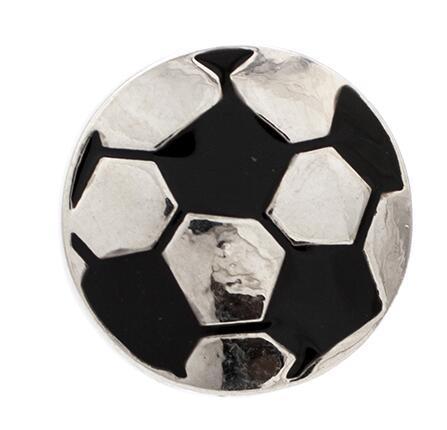 شحن مجاني NSB1232 ، GL026 حار بيع التقط زر مجوهرات لسوار قلادة جديد الأزياء diy مجوهرات كرة القدم يستقر صنع المجوهرات