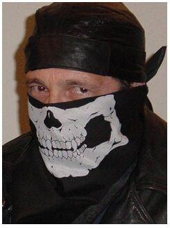 New Half Face skull Mask Bike Motorcycle Neck Scarf 100% cotton bandana Headwrap 12pcs/lot free shipping