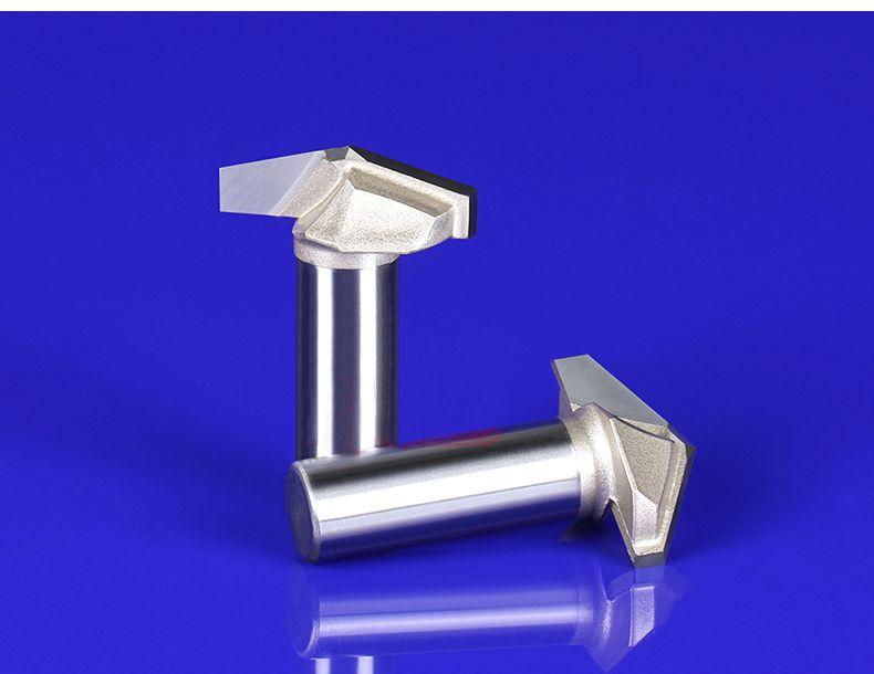 Spedizione gratuita 120 gradi 32mm di diametro V tipo incisione legno fresa taglierina lato incisione coltello
