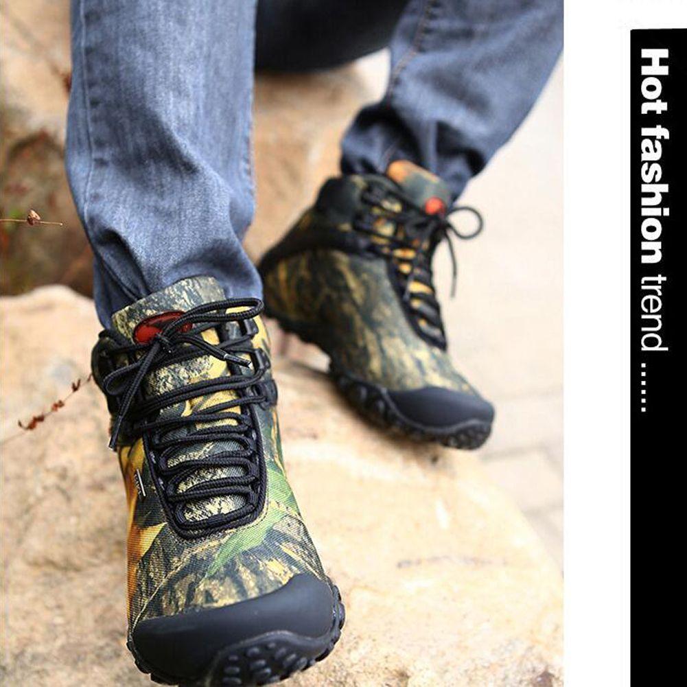 Baideng Mens Waterproof Hiking Boots