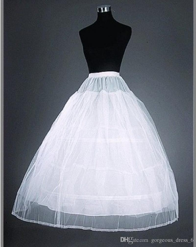No Risk Shopping Ball Gown Petticoat Crinoline 3 Hoops 1 Layer Tulle ...