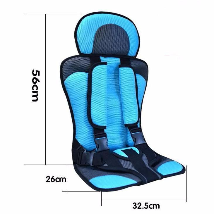 Baby Sit Toddler Car Seat Cushion Breathable Fabrics Kid Safety Belts Unisex Soft Cute Children