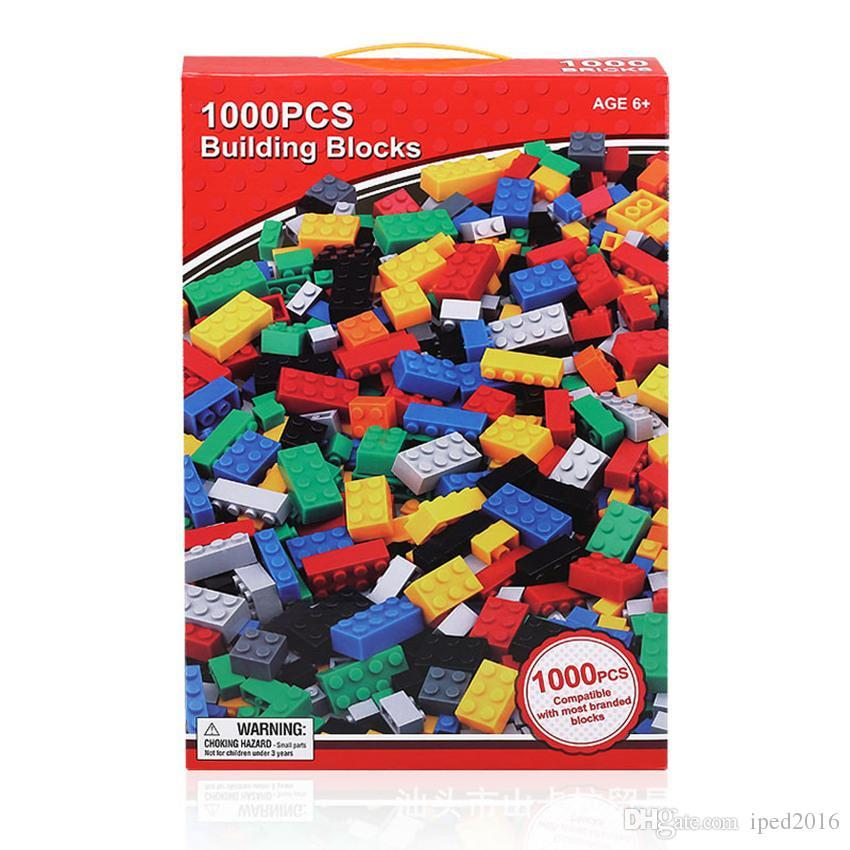 DIY Building Blocks 1000pcs Educational Toys ABS Material With Retail Package And Best Price For You