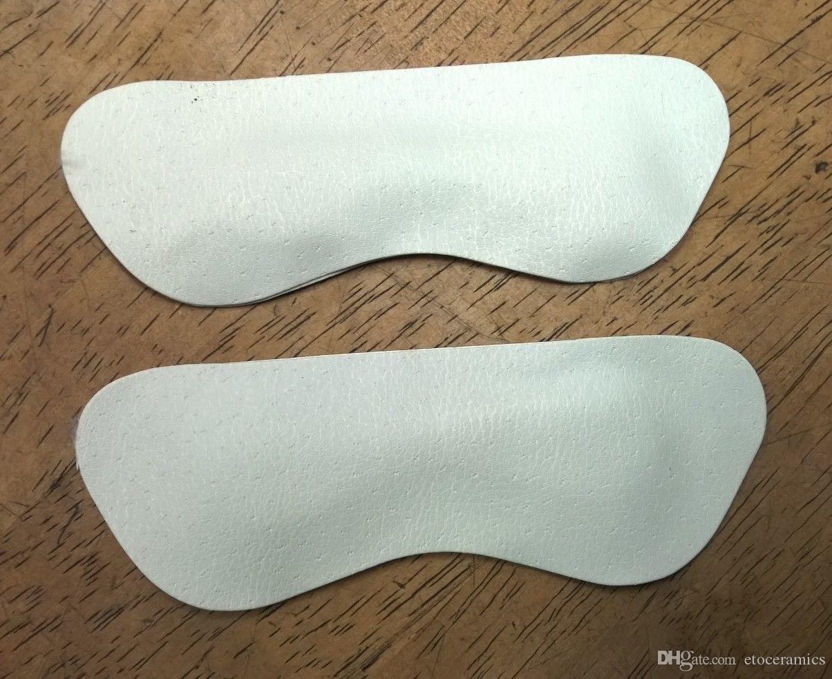 500 stks / partij 250pairs voetverzorging kussen beschermer binnenzool voering hoge hak schoenen achterleer pad gratis verzending