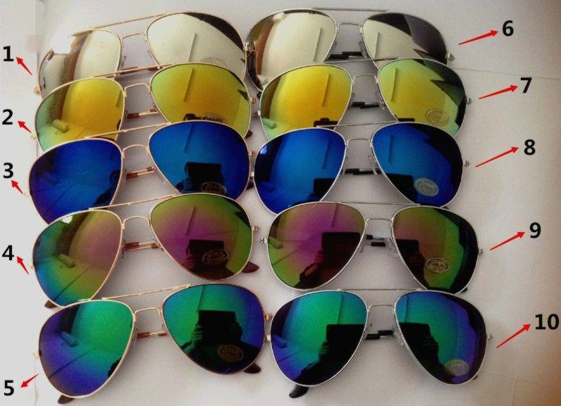 Billig Großhandel Sommer Mode Brille Fabrik Sonnenbrillen Verkauf Sonnenbrillen Sonnenbrillen Männer Glas Unisex Brille Frauen Brille