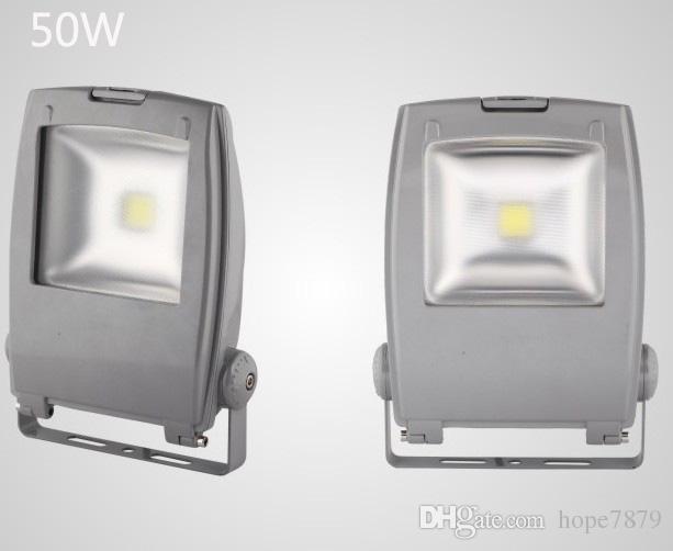 50 Вт LED проекционное освещение туннель свет водонепроницаемый открытый свет деревня сад прожектор суд освещение bridgelux водонепроницаемый