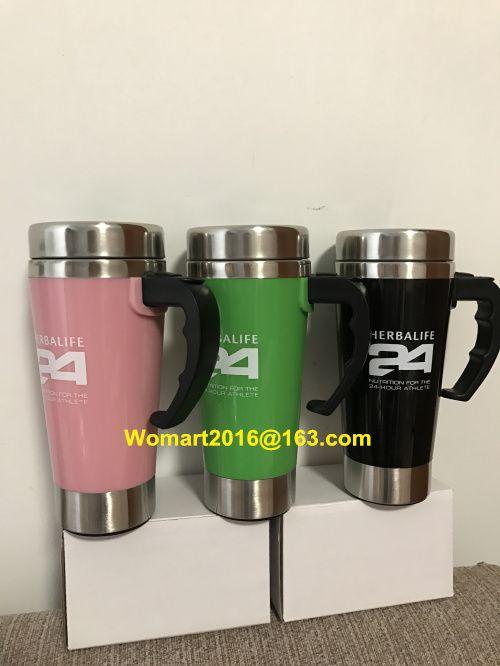 Herbalife Nutrição Shake Garrafa 500 ml Inoxidável Auto Agitação Caneca Auto Mixing Saúde Refeição / Chá Copos Caneca de Café