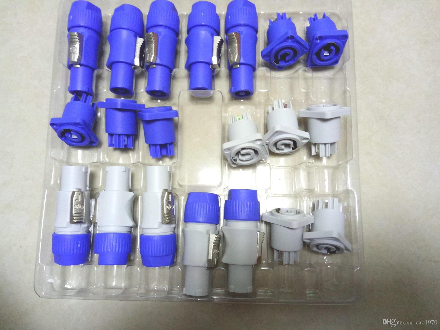 10 مجموعة محول لوحة المكونات Nut3 PowerCON من النوع NAC3FCA + NAC3MPA-1