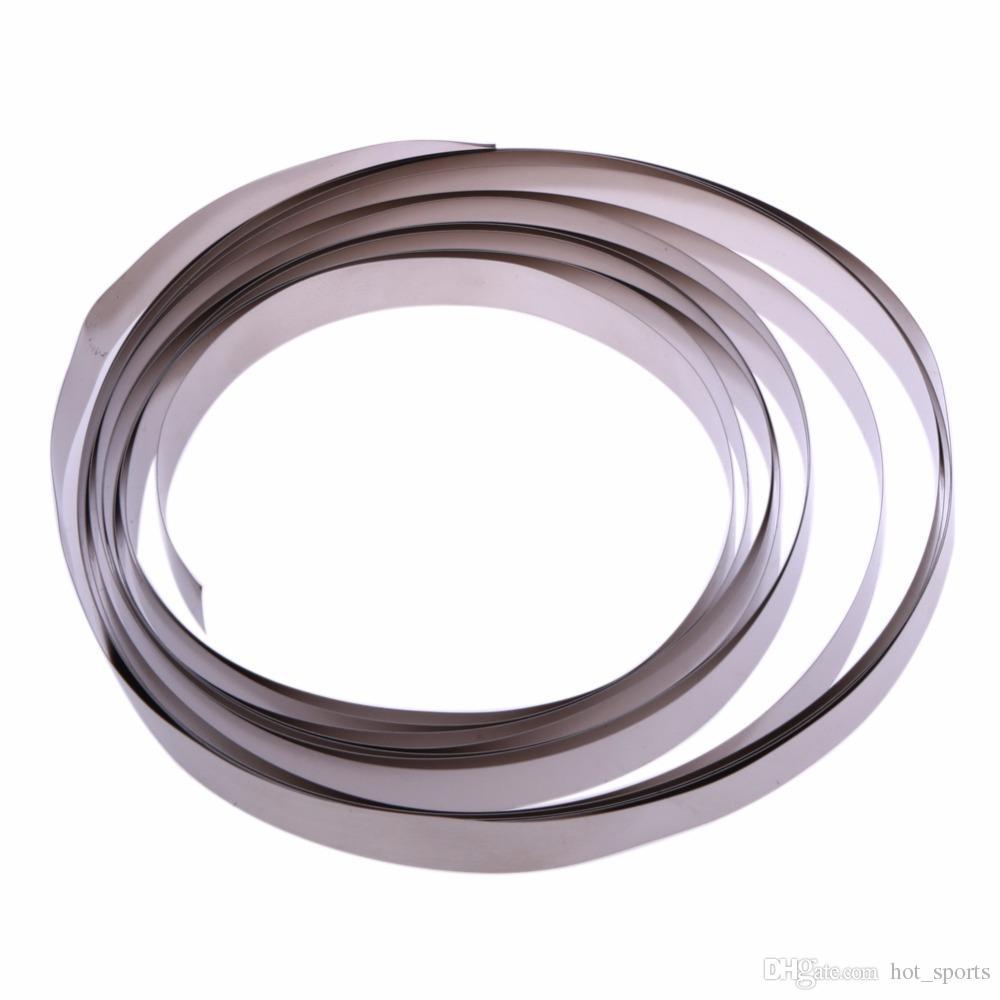 Kits de voyage 3m bande de bande de nickel de plaque de Ni pur pour Li 18650 outils de soudage par points de batterie extérieure