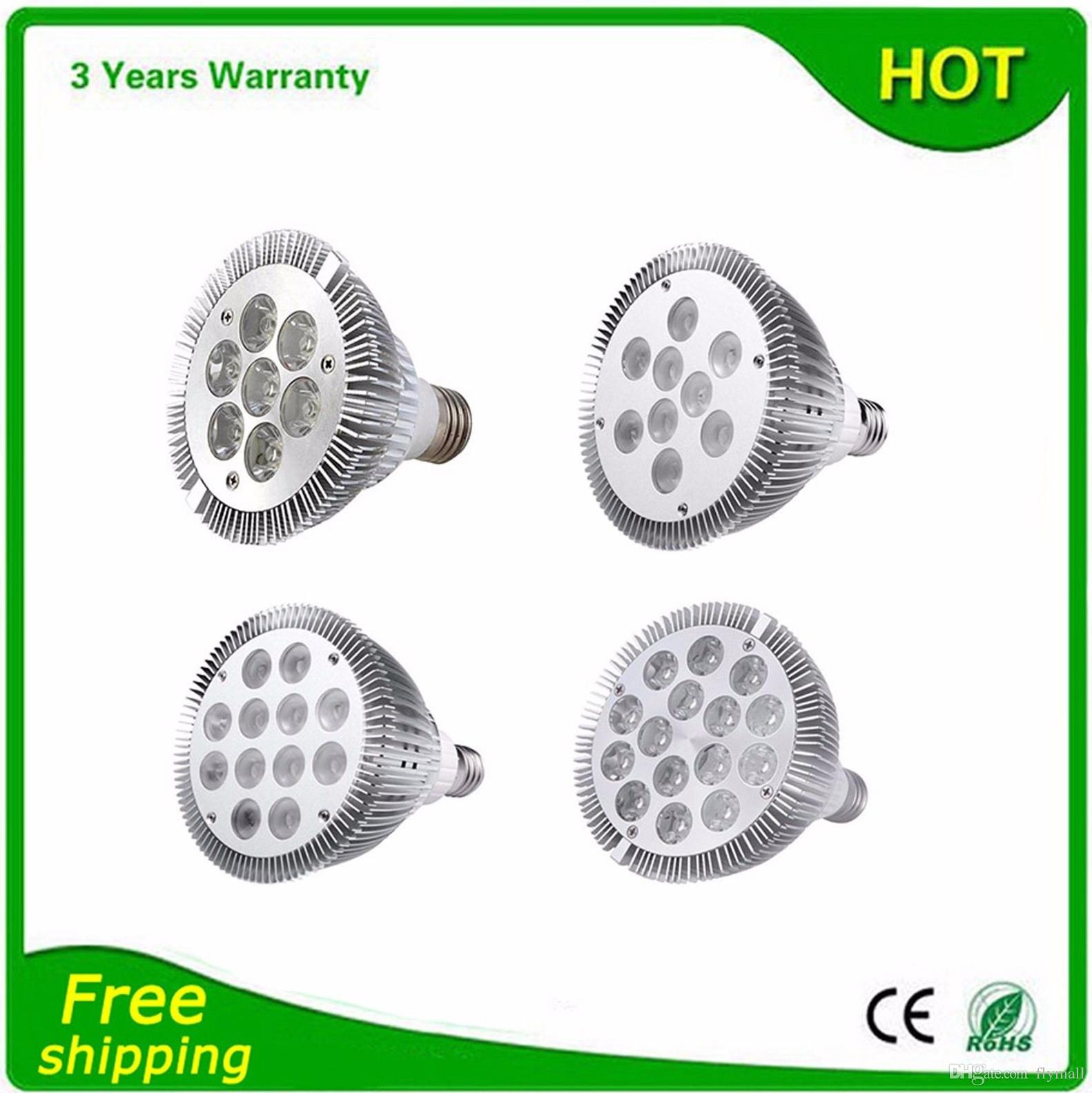 Ultra Bright Dimmable Led Bulb par38 par30 par20 85-265V 9W 10W 14W 18W 24W 30W 36W E27 par 20 30 38 LED Spot Lamp Light Downlight