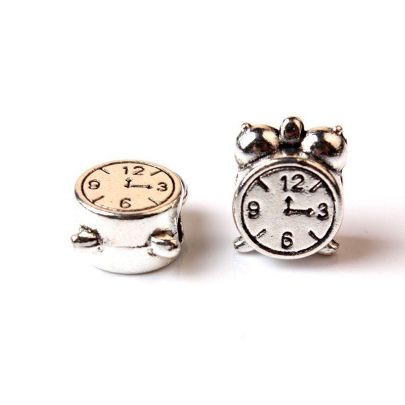 Sostituzione lega di fascino perlina orologio essere in tempo moda donne gioielli Stunning design stile europeo per collana bracciale Pandora Panza003-20
