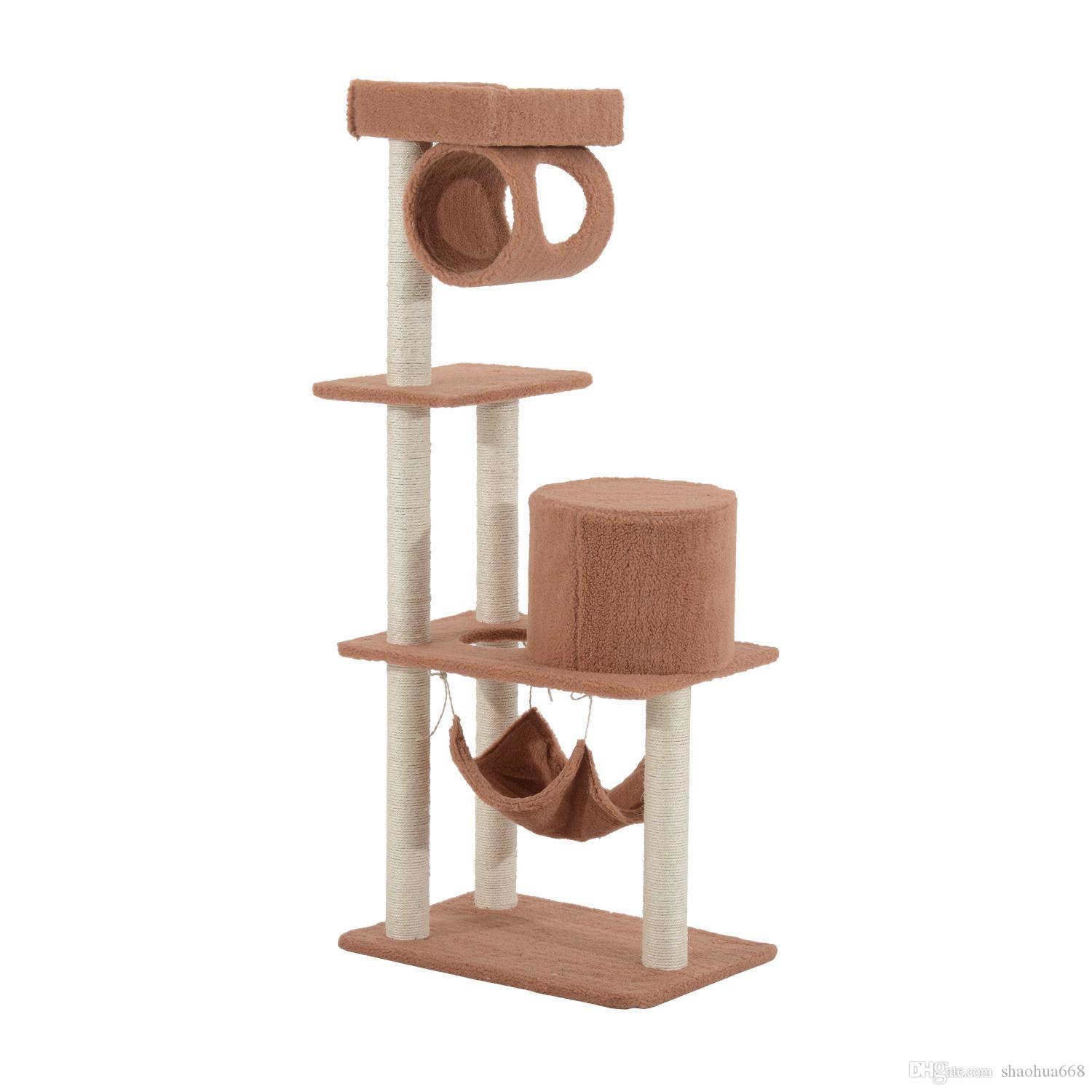 Best New Cat Tree Tower Condo Post Cat Scratcher Pet House Toy