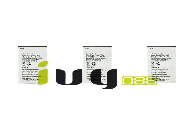 3pcs / lot 2000mAh C706045200P Oem Battery for Blu Studio C 5+5 D890U D890L S0050uu D890 Batteries
