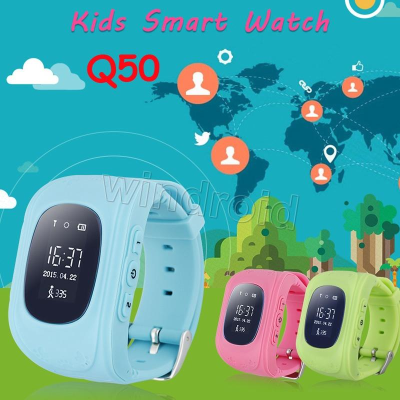 Q50 GPS Tracker for Child Kid smart Watch SOS Safe Call Location Finder Locator Trackers smartwatch for Kids Children Anti Lost Monitor 10pc