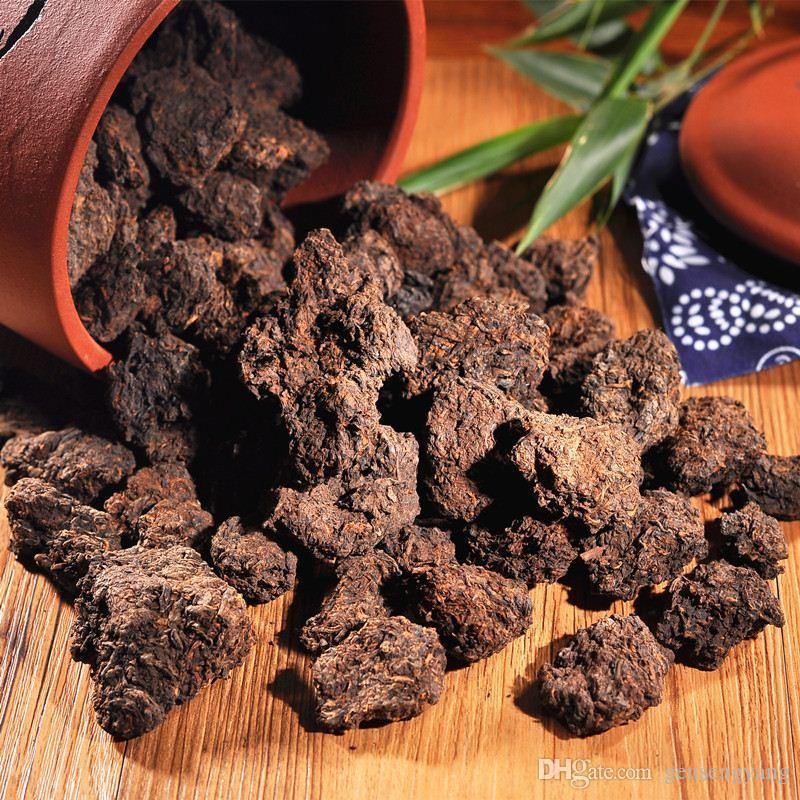 200g Ripe Puer mini Tuocha Vecchio Puer capo Organic Pu'er albero più antico cotto naturale Puer Puerh nero Puerh