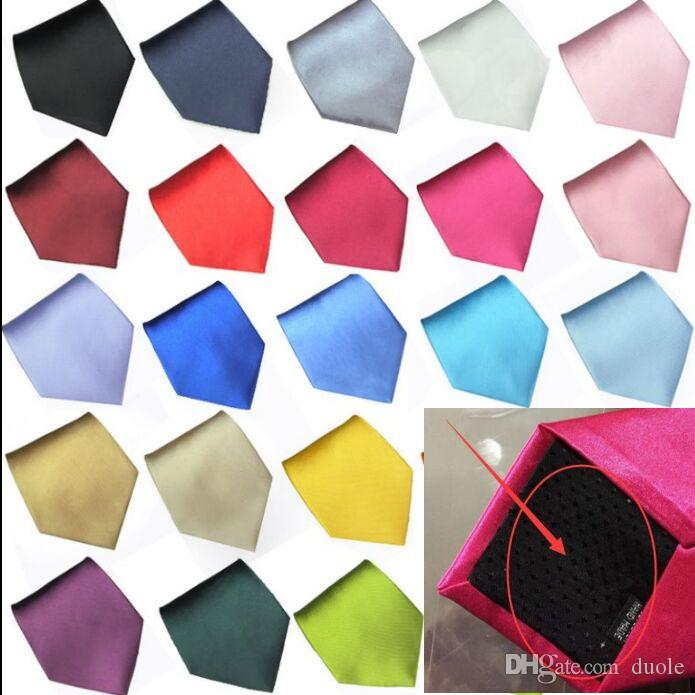 Solid necktie 36 Colors 145*10cm Men's neck tie Narrow version NeckTie Leisure Arrow Necktie Skinny neckties Free FedEx TNT