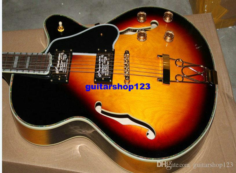Custom Shop Classic Sunburst L5 Very Beauty Jazz Guitar di alta qualità Spedizione gratuita A8344