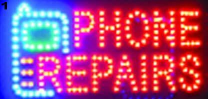 New arriving super brightly customized led light signs led Phone Repairs sign billboard neon led Phone Repairs signs