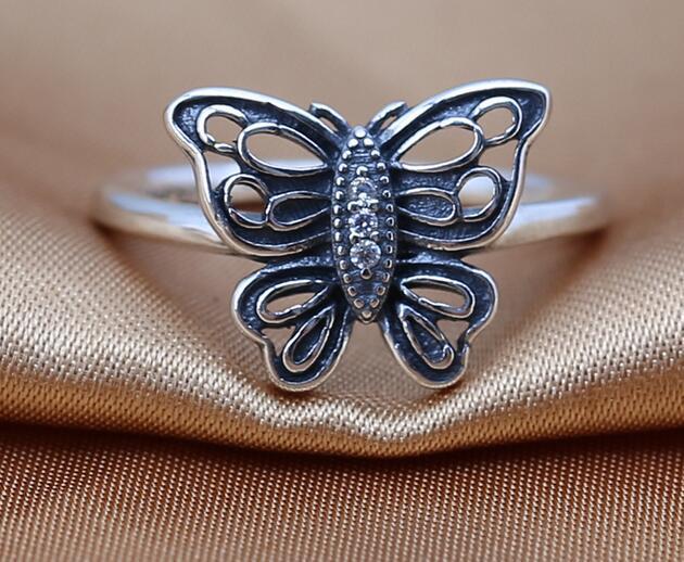 Alta qualidade 100% 925 Sterling Silver Ring se encaixa para Estilo Europeu Jóias Charme jóias finas para as mulheres por atacado