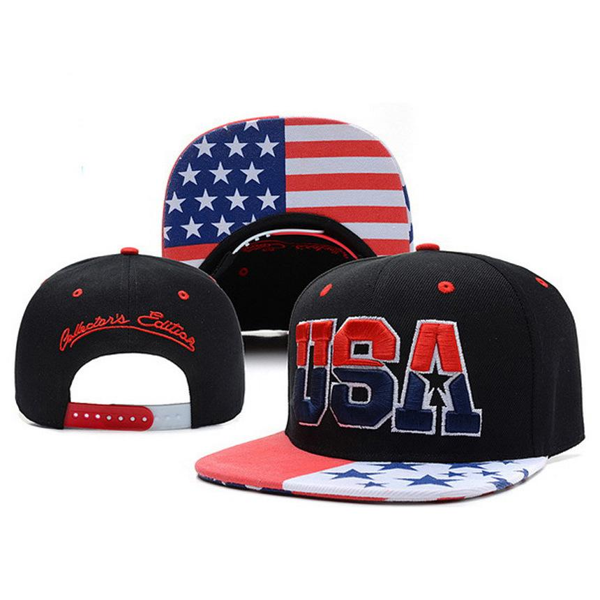 Freizeit Cap / Hut / USA Buchstaben - entlang der Baseballmütze / American Flag Star der Hip-Hop-Kappe / Outdoor-Kappe, Baseball-Cap / Großhandel