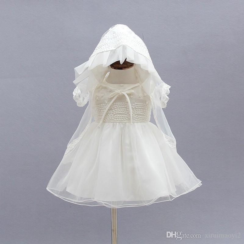 Baptism Bonnet Christening Bonnet Baby Bonnet /& Collar Set