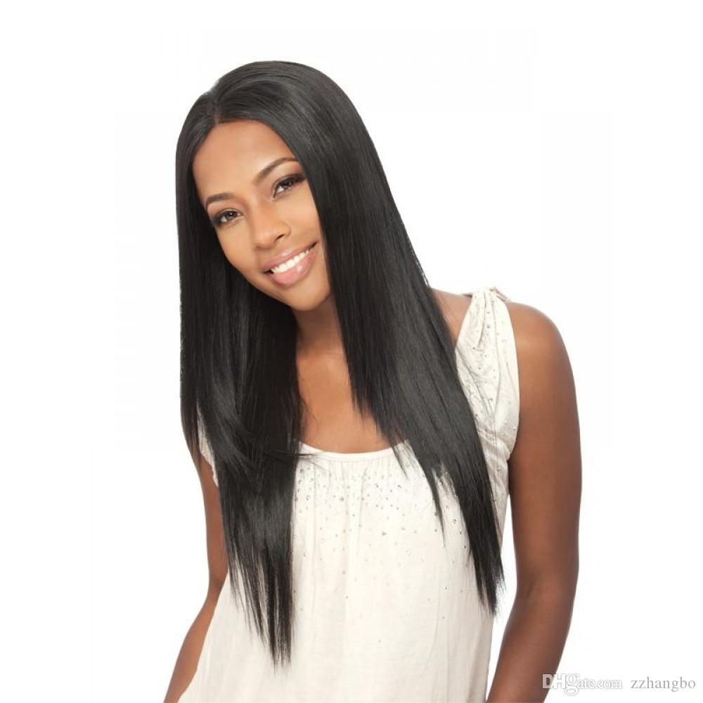Full Lace wigs Density 150% Full Lace Human Hair Wigs silk Peruvian Virgin Hair Front Lace Wigs Straight Human Hair Wig For Women KABELL WIG