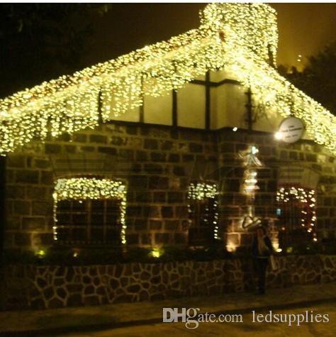 6Mx1M / 9MX1M / 12MX1M / 15MX1M LED 웨딩 파티 크리스마스 요정 조명 크리스마스 조명 LED 커튼 빛 집 정원 축제 조명