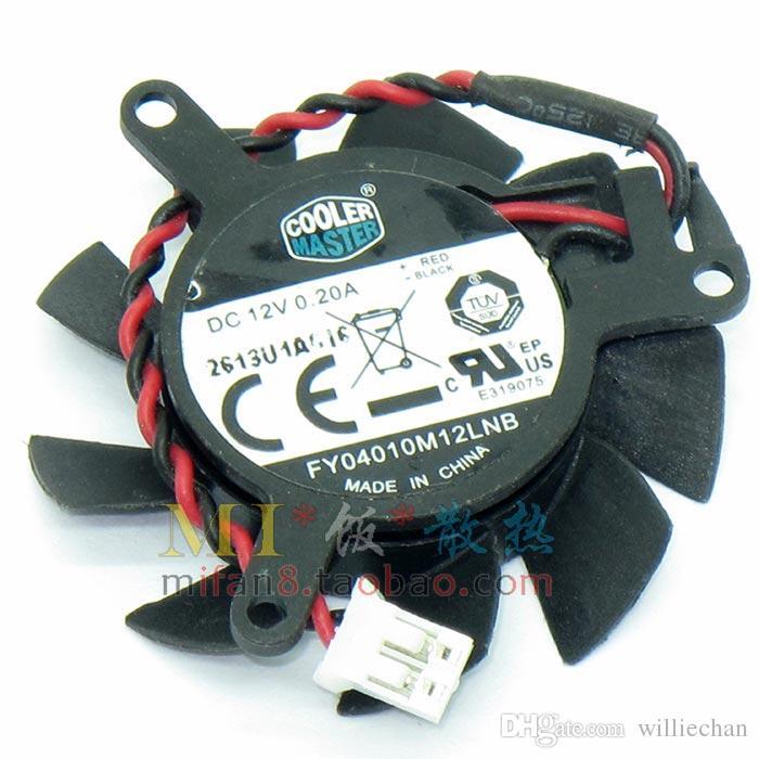 37mm  VGA  Fan NVIDIA GeForce 605//620 CoolerMaster FY04010M12LNB 31mm 0.20A 2Pin