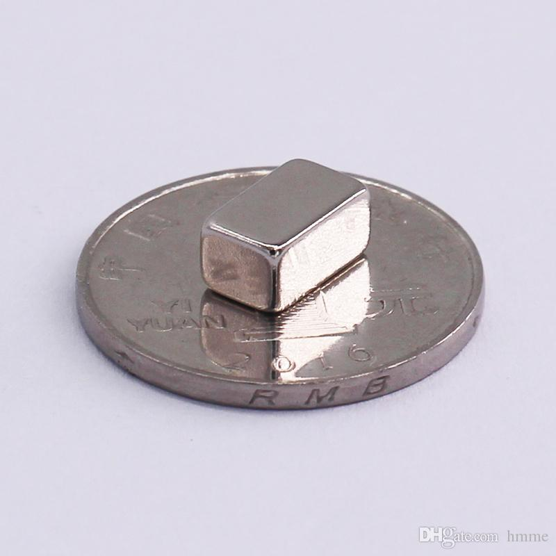 1 Pack N42 NdFeB Thin Block 10x6x5 (+/-0.1)mm about 0.22'' Magnet Bar Strong Neodymium Permanent Magnets Rare Earth Lifting Magnets